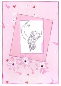 Ali's baby card