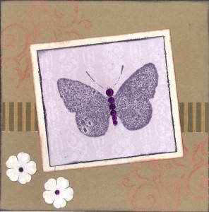 Butterfly farewell